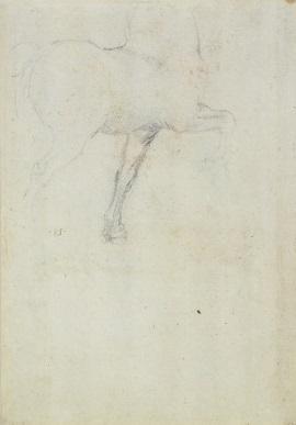 145 verso - by Leonardo da Vinci - Art encounter - Queen's Collection