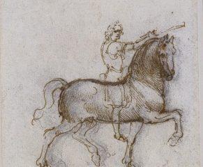 134 recto – by Leonardo da Vinci