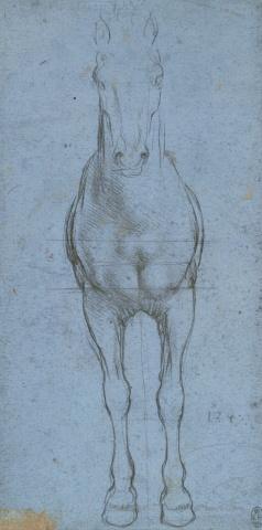 91 recto by Leonardo da Vinci Queen's Collection