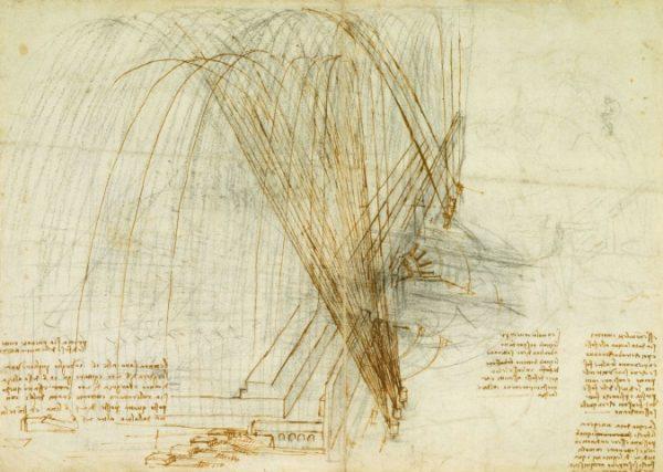 118 verso by Leonardo da Vinci Queen's Collection
