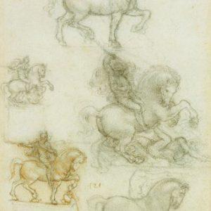 139 recto by Leonardo da Vinci Queen's Collection
