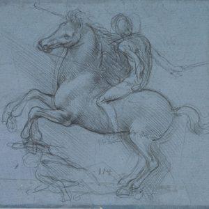 106 recto by Leonardo da Vinci Queen's Collection