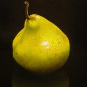 One Pear - by Luba Stolper - Art encounter
