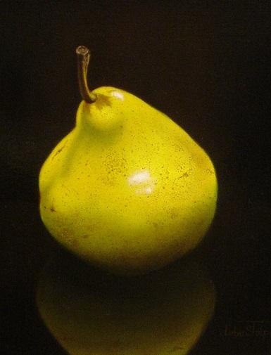 One Pear - by Luba Stolper - Art encounter