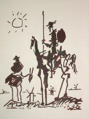 Don Quixote – by Pablo Picasso  (SOLD)