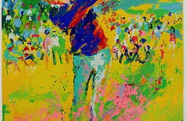Tee Shot (Jack Nicklaus) by LeRoy Neiman  (SOLD)