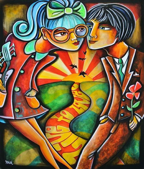 Live To Love - Jennifer Main - Art encounter