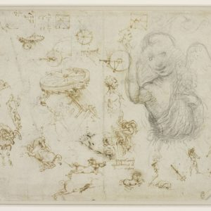 119 recto – by Leonardo da Vinci - Art encounter
