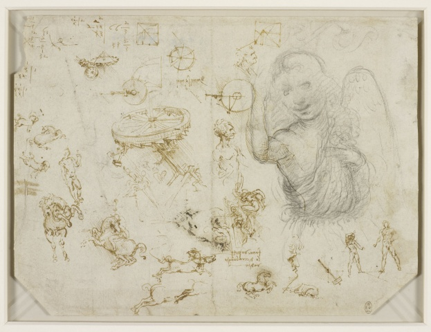 119 recto – by Leonardo da Vinci – Art encounter