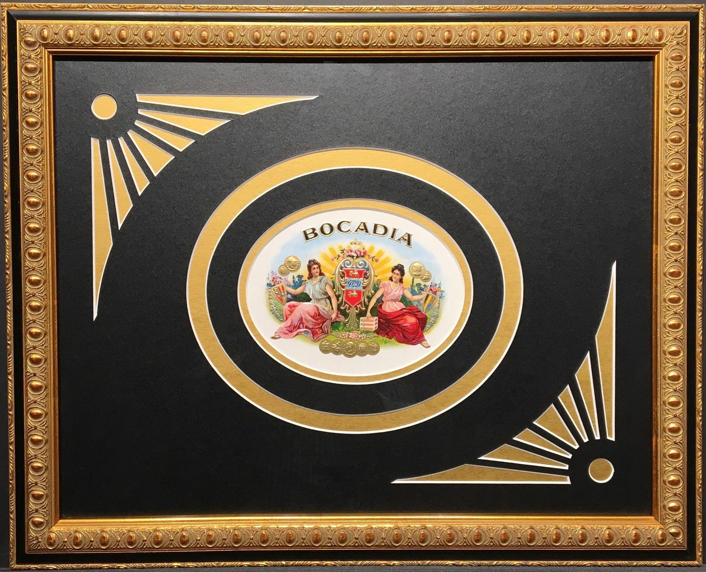 Bocadia Cigar Label.