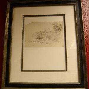71 recto Framed– by Leonardo da Vinci - Art encounter