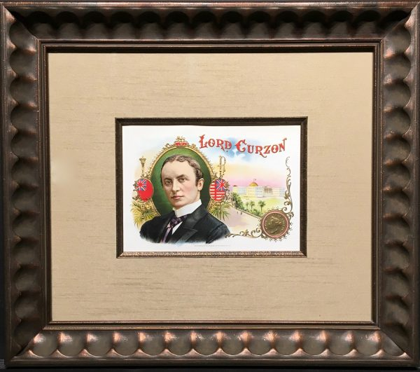 Lord Curzon Cigar Labels.