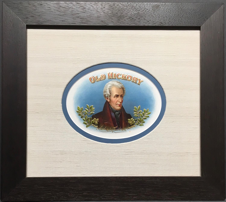 Old Hickory Cigar Label.
