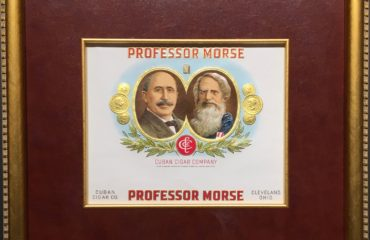 Professor Morse – Cigar Label Art