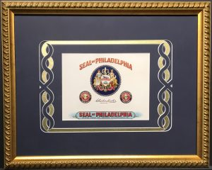 Seal of Philadelphia – Cigar Label Art
