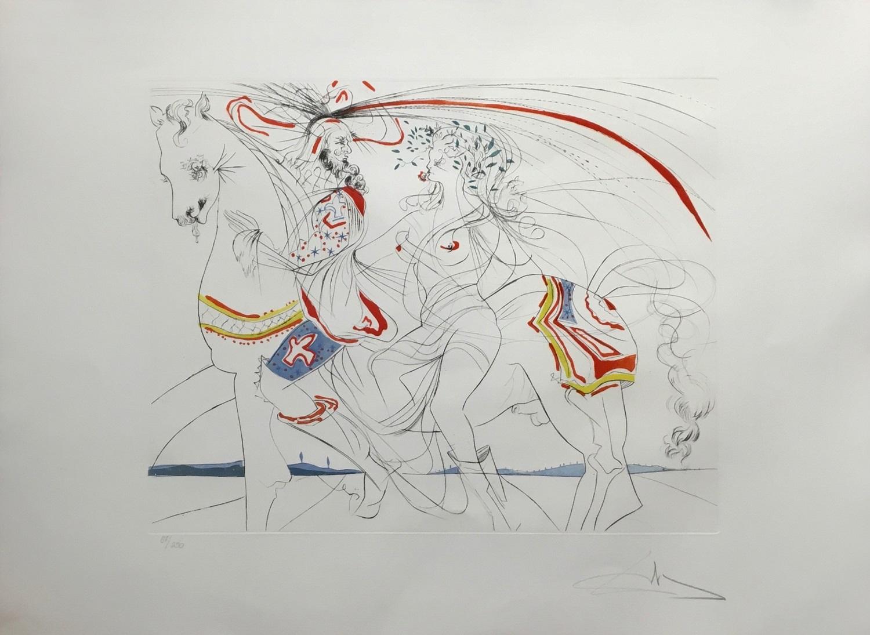 Diane de Poitiers by Salvador Dali–