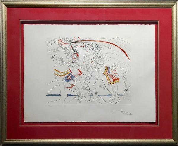 Diane de Poitiers by Salvador Dali.
