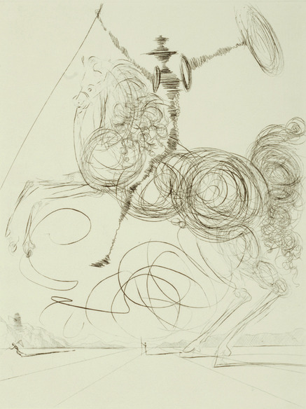 Don Quichotte by Salvador Dali – 1964