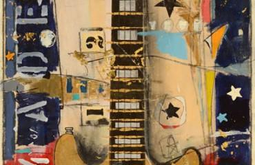 Gold Double cut Les Paul By Michael Babyak