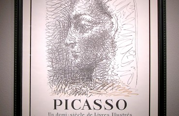 Original 1956 Exhibition Poster Signed by Pablo Picasso (SOLD)