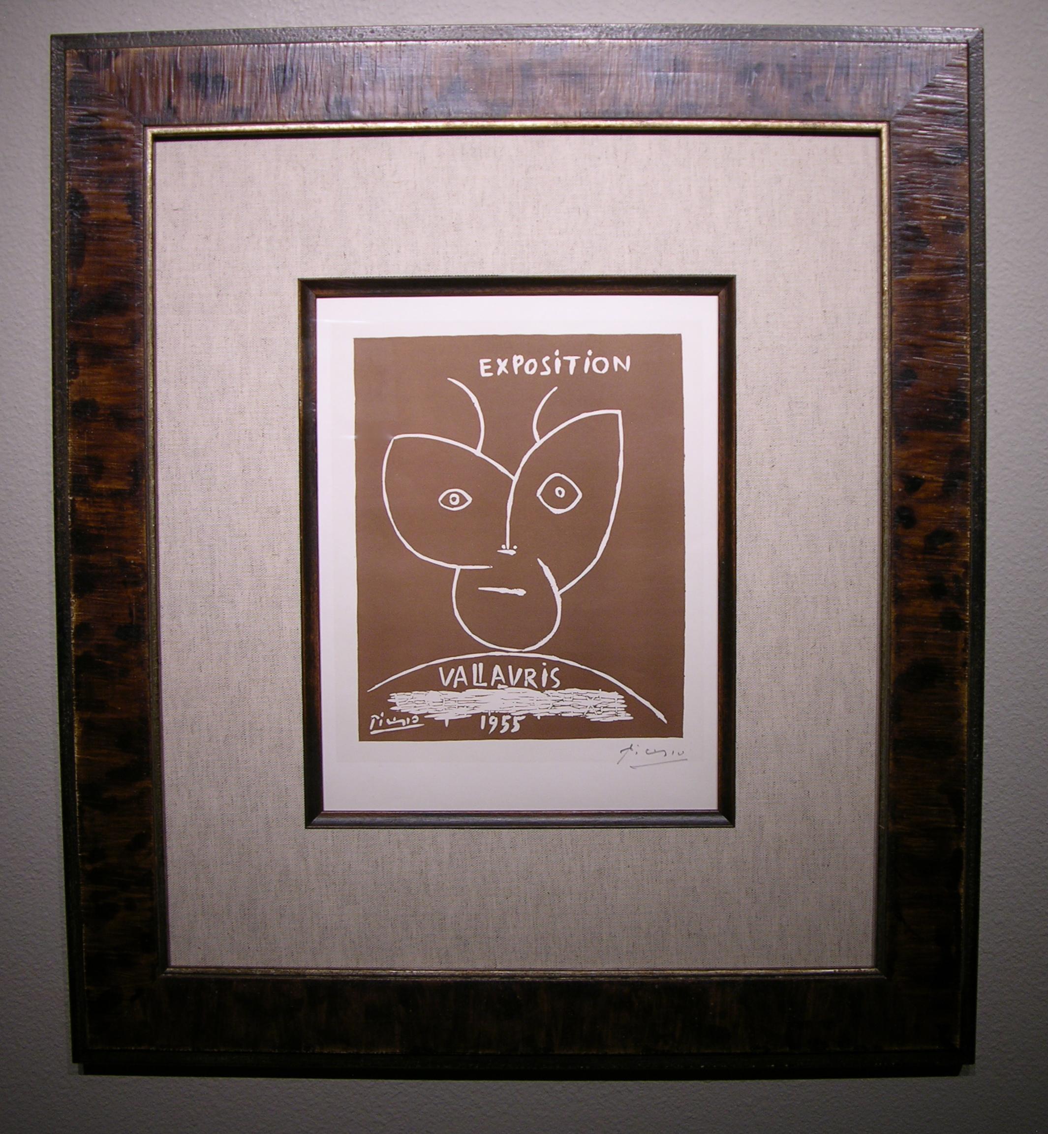 Picasso Vallauris Lino-Cut