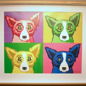 The Four Tops by George Rodrigue