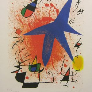 L'Etoile Bleu (Blue Star) by Joan Miro
