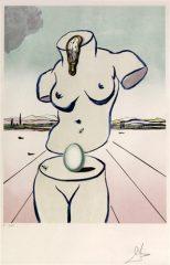 Birth of Venus by Salvador Dali  (SOLD)