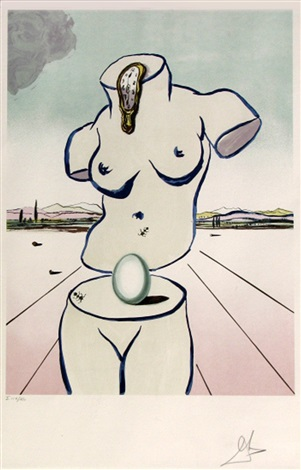 Birth of Venus by Salvador Dali