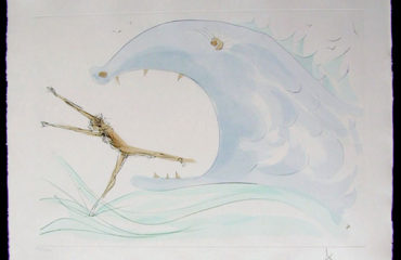 Jonah and the Whale by Salvador Dali