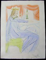 King Solomon by Salvador Dali