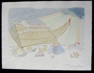 Noah's Ark by Salvador Dali