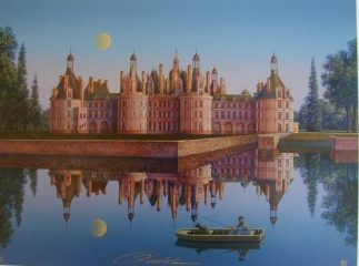 Chateau De Chambord by Jim Buckels