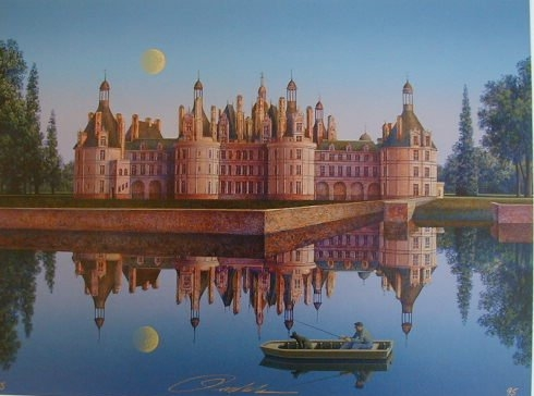 Chateau De Chambord by Jim Buckels
