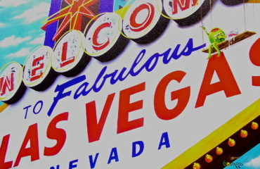 Welcome To Las Vegas by Michael Godard  (SOLD)