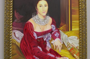 Portrait of Madame de Senonnes by Galina Evangelista