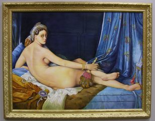 The Grand Odalisque by Galina Evangelista