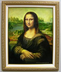 Mona Lisa by Galina Evangelista