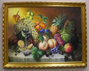 Fruit and Wine by Galina Evangelista