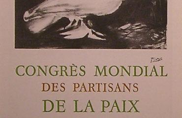 Congres Mondial de la Paix     Signed Poster by Picasso – SOLD
