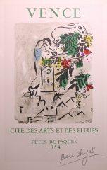 Cite Des Arts Et Des Fleurs by Marc Chagall