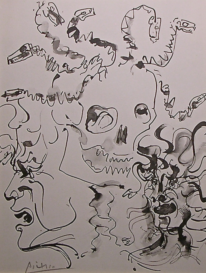 Medusa from Picasso's Buffon Portfolio – 1957