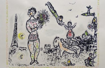 Paris en Fete by Marc Chagall – SOLD