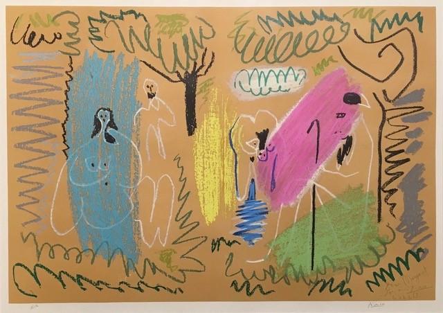 Pablo Picasso – Pour Margaret – 1963