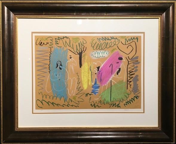 Pablo Picasso - Pour Margaret - 1963