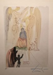 The Garden of Christ (Paradise – canto # 23) by Salvador Dali – SOLD