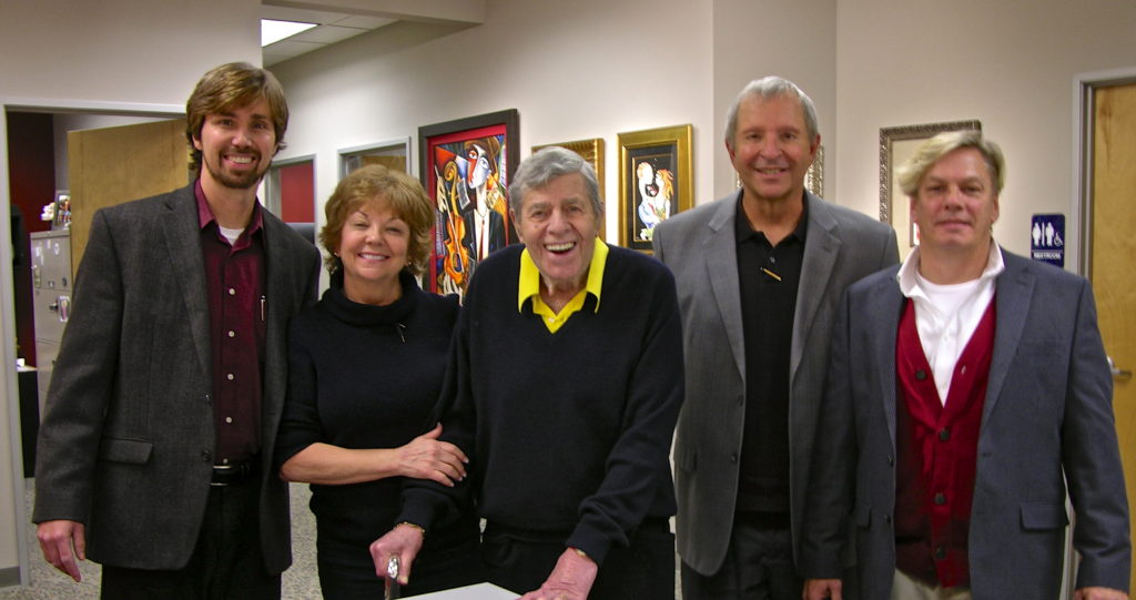 Jerry Lewis at Art encounter