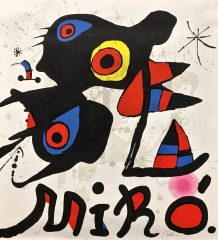 Fundacao Calouste Gulbenkian by Joan Miro   (SOLD)