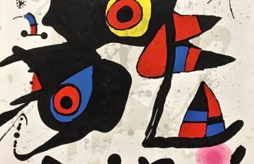 Fundacao Calouste Gulbenkian by Joan Miro   (SOLD)