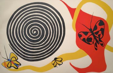 Butterflies and Spirals by Alexander Calder – SOLD